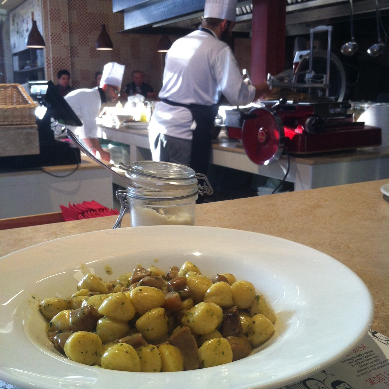 Lunch at the Mercato Centrale, Florence