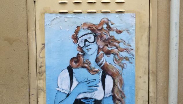 Street art of Florence